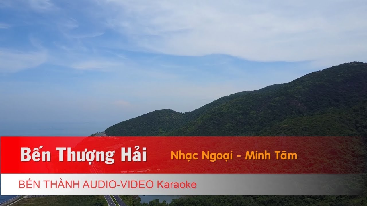 KARAOKE | Bến Thượng Hải (Nhạc Hoa) - Lời: Minh Tâm | Beat Chuẩn