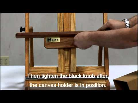 Richeson Best Deluxe Table Top Easel 884200