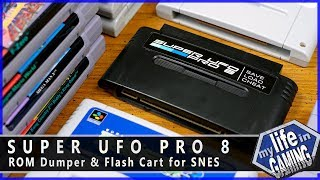 Super UFO Pro 8 - ROM Dumper & Flash Cart for SNES / MY LIFE IN GAMING