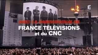 Indochine, live au Stade de France Black city concert emission france2