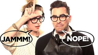 Schitt's Creek's Dan Levy & Annie Murphy Play 'Jam or Not a Jam?'
