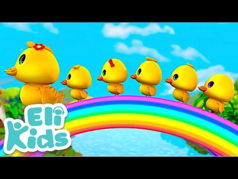 Five Little Ducks   Eli Kids Song & Nursery Rhymes Compilations