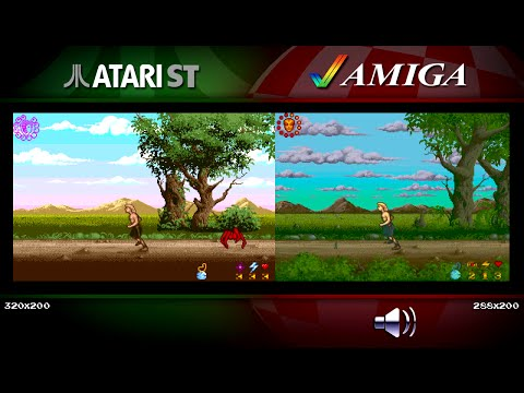Wrath of the Demon | Amiga vs Atari ST | Comparison - Dual Longplay