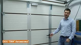 Обзор секционных бытовых ворот Hormann Крым LPU 42 Крым