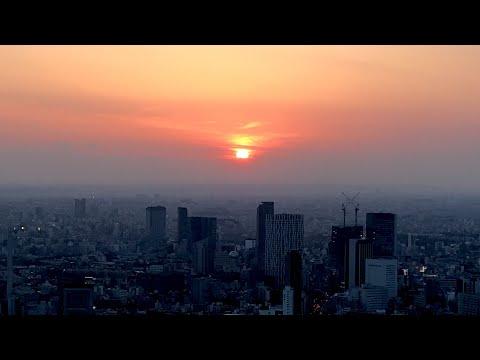 SKY DECK 270 m MORI TOWER Helipad SUNSET Stunning TOKYO TOWER by Night
