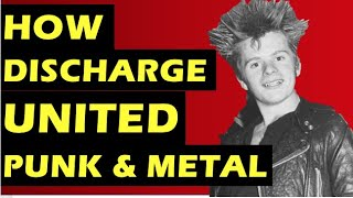 Discharge: How the Band's Debut Record Hear Nothing See Nothing Say Nothing United Punk & Metal