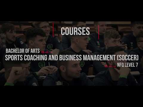 BA Sports Coaching & Business Management [Soccer]  at IT Carlow
