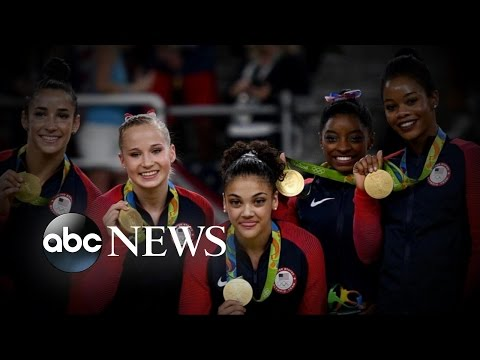 Olympics | US Women's Gymnastics Team Wins Gold