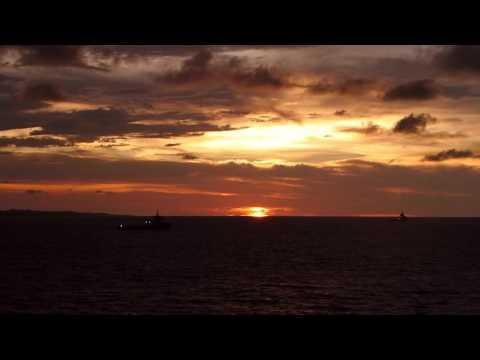 Brunei - Sunset off the coast of Brunei HD (2015)