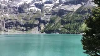 1 раз в 20 лет!Швейцария Обвал скалы в Озеро/Oeschensee  Switzerland Rock falling in the lake #24(Это уникальное видео, как позже нам сказал один из местных такое было последний раз 20 лет назад:) в живую..., 2016-09-02T01:12:53.000Z)