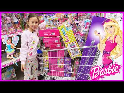 Mega Barbie Toy Hunt At Toys R Us - Play Dolls With Me