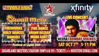 Neeraj Shridhar Comes to Take the Stage at Houston Diwali 2017!