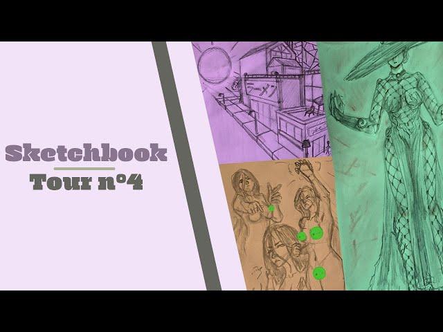 SKETCHBOOK TOUR N°4 - Expérimentations et retour aux bases!