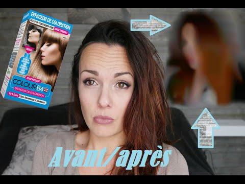 test colour b4 jefface ma couleur resultat avantaprs - Eclaircir Cheveux Noir Color