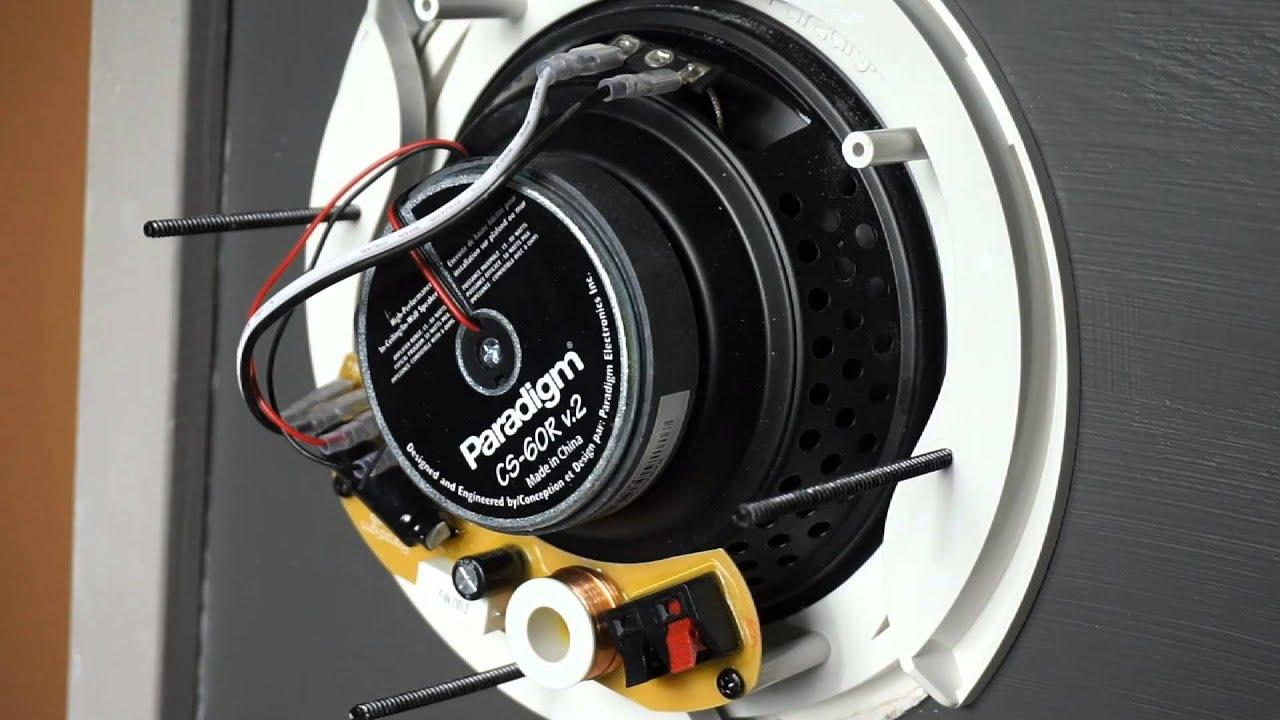 Paradigm CS-60R V2 In-Ceiling Speakers - Gibbys Electronic Supermarket