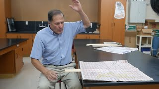 Breaking Board Paradox--air pressure // Homemade Science with Bruce Yeany