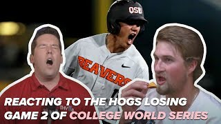 Rally Chip & Reaction to Hogs Game 2 loss against Oregon State