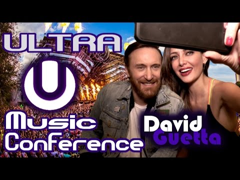 Backstage w/ David Guetta // Ultra Music Festival 2017