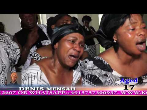 FUNERAL OF THE LATE DENIS MENSAH BY RICHIE & LYDIA AUGSBURG