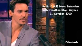Jonathan Rhys Meyers Radio 2 Gulf News Interview 21 Oct 2010