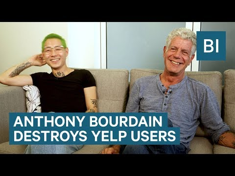 Anthony Bourdain Destroys Yelp Users