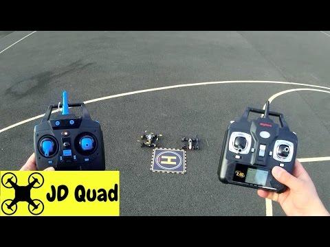 Syma X9 vs JJRC H23 Quadcopter Racing Car Drone