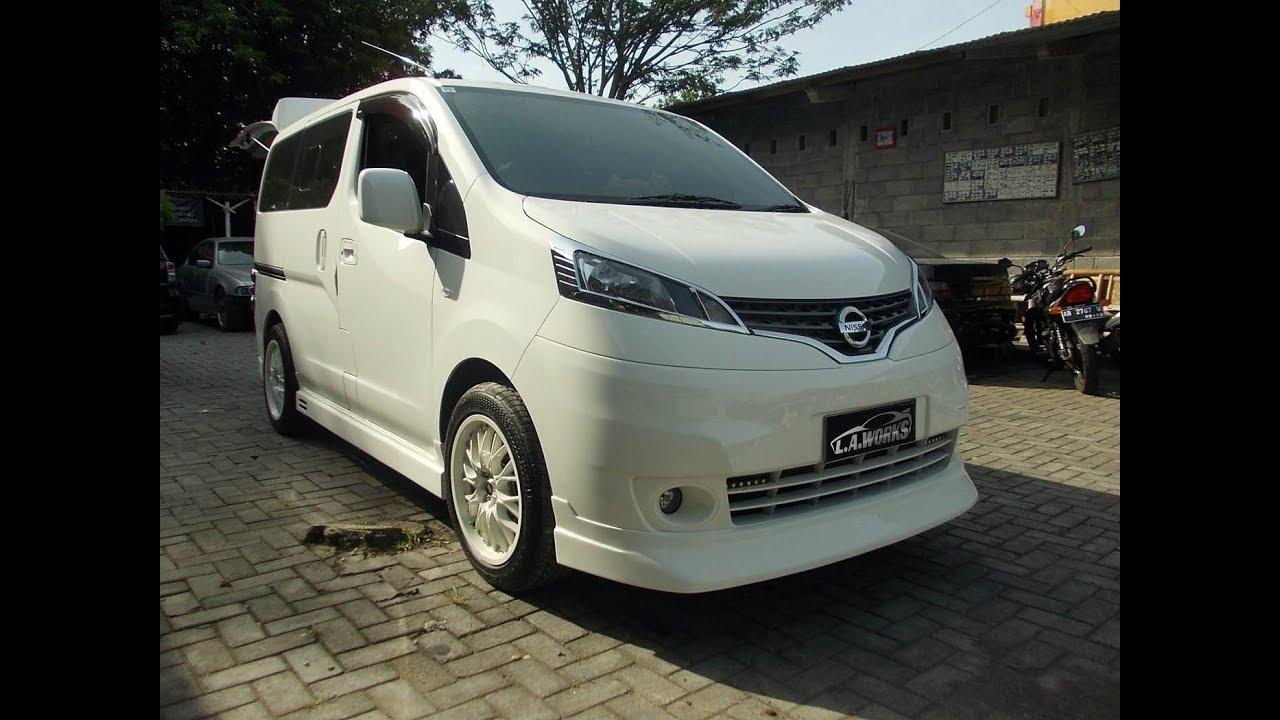 Nissan NV (Evalia), Bodykit Add On Custom - YouTube
