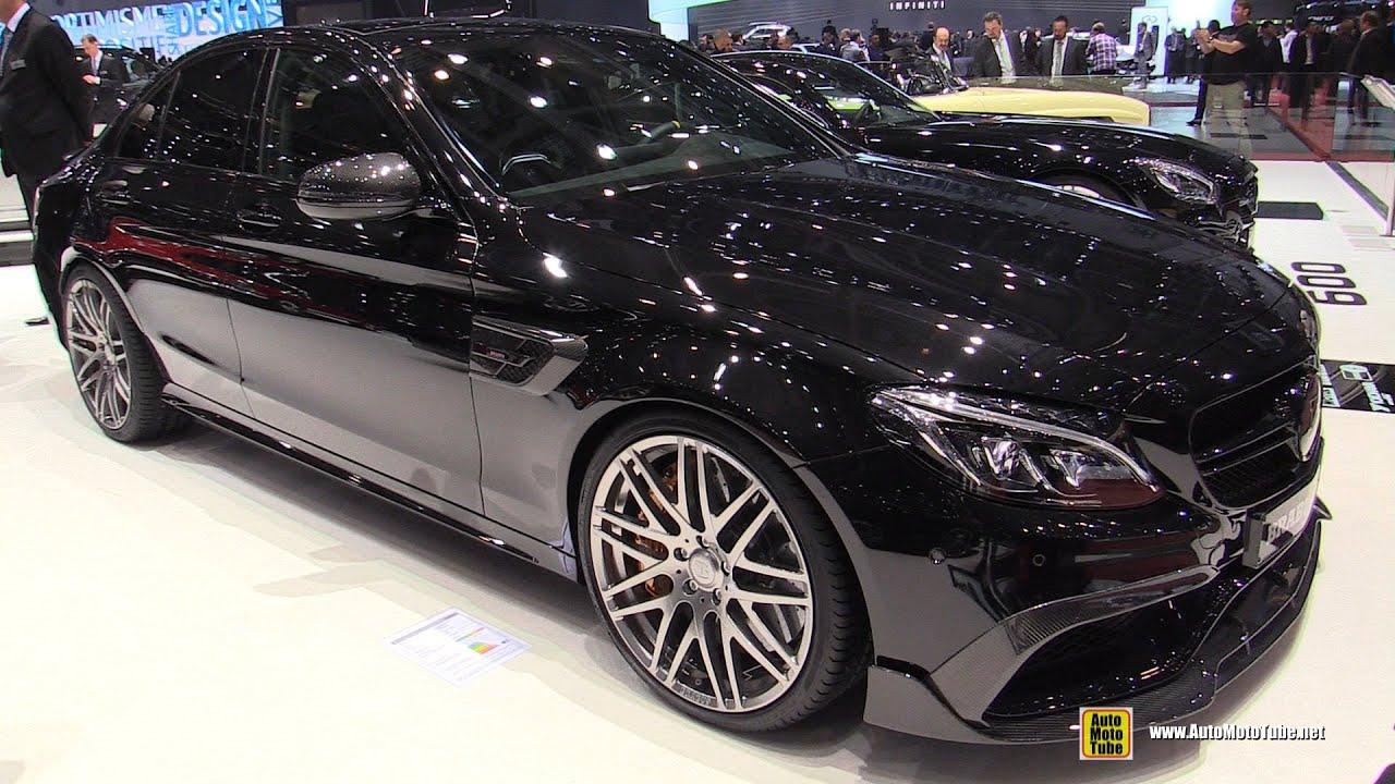 2016 Mercedes AMG C63 S Brabus 650  Exterior and Interior