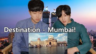 Mumbai Tourism Reaction by Korean Dost | India Tourism Video | Incredible India