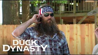 Duck Dynasty: Willie's Urgent Phone Call to Godwin (Season 6, Episode 9) | A&E