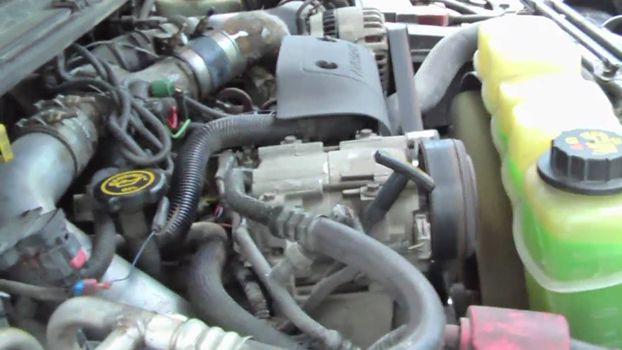 Ford Powerstroke Faulty Injector Wiring Harness - YouTube