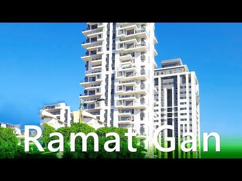RAMAT GAN City, ISRAEL. Virtual Video Walk