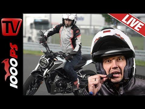NastyNils Live #4 - Motorrad Beratung und Fahrtechnik Tipps - Richtige Linie fahren!