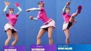 NEW Birdie Skin Showcase w/ All Fortnite Dances & Emotes