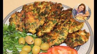Картофельные котлетки с зеленью и куриной грудкой.Иракские Котлетки по новому.