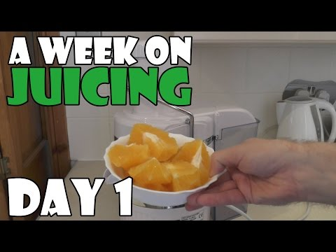 A Week On Juicing Day 1