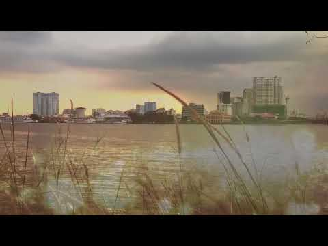 Saigon river - Vietnam - Slowmo