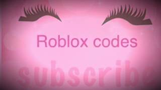 🌱Roblox codes for cute clothes🌱