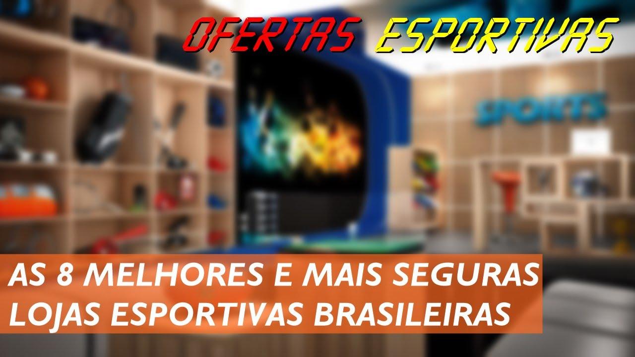 147a598fa TOP 8  Lojas Esportivas Confiáveis e Seguras (Links na Descrição ...