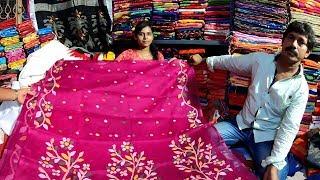 Handloom, Linen, Matka, Muslin, Jamdani Manufacturer Of Shantipur   2019 Durga Puja Collection