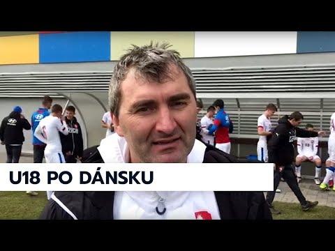 Trenér Suchopárek a kapitán U18 Finěk hodnotí remízu s Dánskem