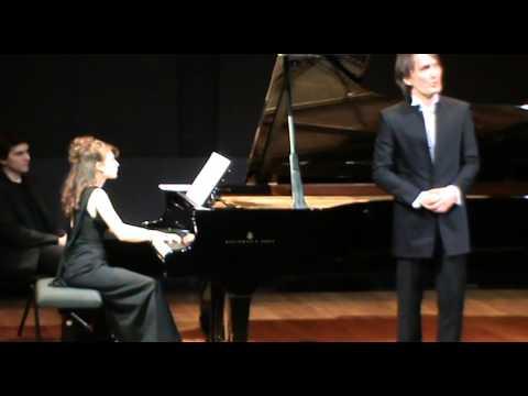 "Michal Partyka, Alissa Zoubritski - Rachmaninov  ""Fragment from Musset"" Op. 26 no. 1"