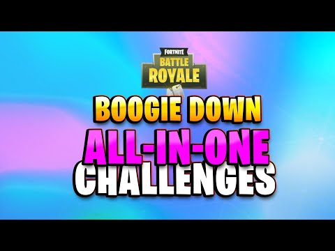 All BOOGIE DOWN Challenges Guides (Fortnite Season 10 Week 6)