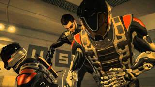 Deus Ex ALL double melee take downs (HD)