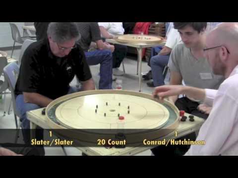 2016 Ontario Doubles Crokinole Championship - Slater/Slater v Conrad/Hutchinson Semifinals