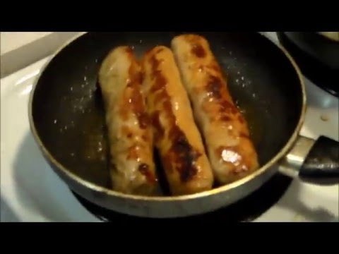 College Cooking s2 #4- Milwaukee Style Hotdogs (a.k.a. Brats)