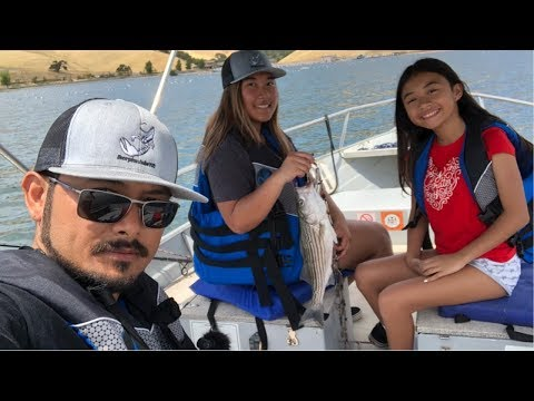 Fishing Trip To Los Vaqueros 1/2 Day Boat Rental|Family Time