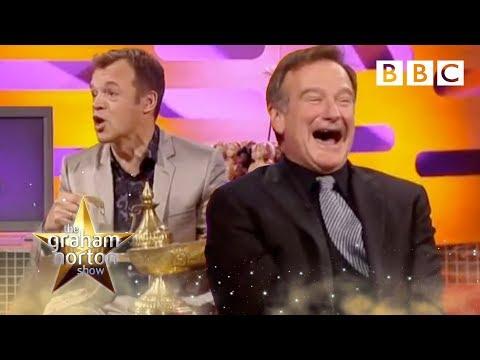 Robin Williams Rubs Graham's Lamp - The Graham Norton Show - BBC Two