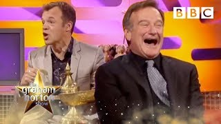 Robin Williams Rubs Graham's Lamp - The Graham Norton Show - BBC Two thumbnail