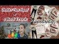 Dollar Tree Haul + 2 GIVEAWAYS(CLOSED)| NEW & WISHLIST Items Found!| Megan Navarro